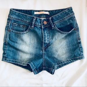 JOUJOU high wasted shorts Light-blue denim. Size 3